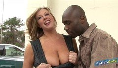 MILF cougar with huge boobs gets her pussy destroyed by BBC Thumb