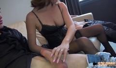 Lana, très sexy se fait défoncer le cul par deux mecs Thumb