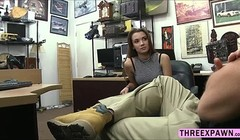 Teen Naomi Alice fucks in the office Thumb