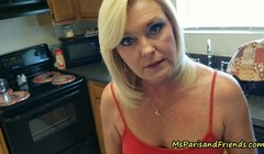 Mommy Gives In and Gives Up the Pussy with Ms Paris Rose Thumb