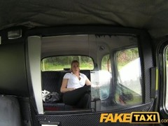 FakeTaxi Hot blonde police woman in taxi revenge Thumb