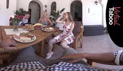 VIRTUAL TABOO - Family Dinner Turns Into Orgy Thumb