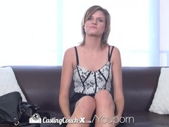CastingCouch-X - Naive Scarlett Fever takes a healthy facial at audition Thumb