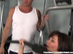 Kinky MILF Would Rather Eat Ass Than Work Out Thumb