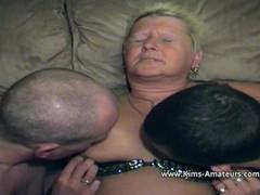 Fat swinging amateur granny Thumb