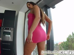 Asstraffic stunning babe gets her ass fucked hard Thumb