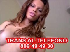 Trans trav al telefono erotico sesso con trans 899 49 49 30 Thumb