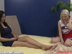 GirlfriendsFilms MILF on Teen Cheerleader Thumb