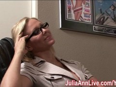 Milf Julia Ann Dreams About Sucking Cock! Thumb