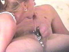 Swallowing Big Cock on hidden camera! Thumb
