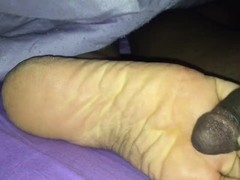 Pre footjob 2 too much talking Thumb