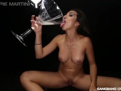 Gangbang Creampie Pour that cum into my mouth compilation Thumb