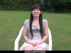 Yui Kasugano superb Japanese porn play in outdoors Thumb