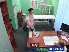 FakeHospital Russian babe wants Doctors cum Thumb