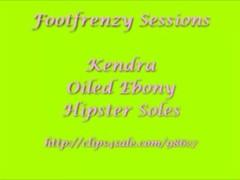 ebony oily feet Thumb