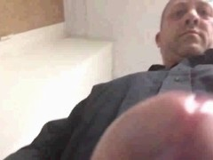 Andys Morris jerking off at work Thumb