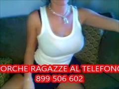 Amatoriale Italiano erotico al telefono ragazza 899 506 602 Thumb