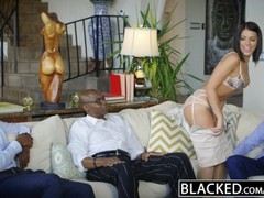 BLACKED Brunette Adriana Chechik Takes Trio of BBCs Thumb