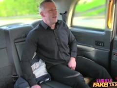 FemaleFakeTaxi Sexy driver loves a hard cock Thumb