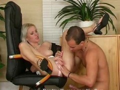 Blonde European MILF Anal Rough Thumb