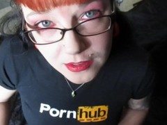 Blowjob For Pornhub with Smoking and Lipstick! Thumb