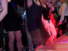European party teens sucking dicks in the club Thumb