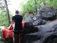 Taken russian girl fucked rude in nature TRAILER ( full video coming soon) Thumb