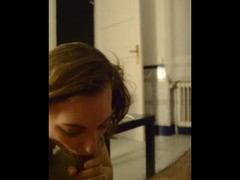 Young friend performing a perfect blowjob craving for making me cum -Part 2 Thumb