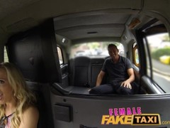 FemaleFakeTaxi Firemans surprise, gushing, huge facial compilation Thumb