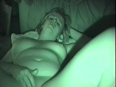 man fingers woman and fucks her at night Thumb