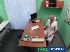 FakeHospital Black haired student wants cock Thumb
