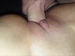 Milf's Shaved Pussy Squirts Thumb