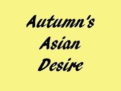 Autumn's Asian Desire: Creamy Pussy Thumb