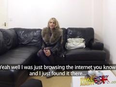FakeAgentUK Spunk gargling Czech fucks agent Thumb