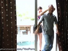 Karlee Grey takes Older Man for Nuru Massage Thumb