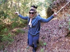 Punishing Some Bitch in The Forest and Fucking Her Senseless Thumb