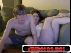 Hot Webcam Couple Performs Thumb