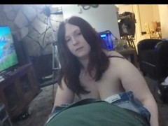 Thick amateur Redhead Sucks and swallows in P.O.V Thumb
