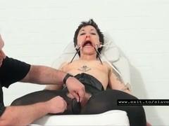 Slave Mara gets bizarre initiation as slave Thumb