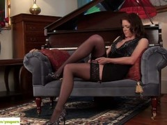 Miah Croft Plays With Mature Pussy Thumb