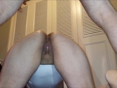 Wife's Virgin Ass Gets Unwanted Double Creampie By Husband's Twin Thumb