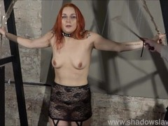 Redhead play piercing slave Marys lesbian bdsm and needle punishment of amateur masochist in harsh d Thumb