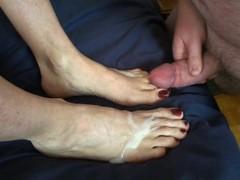 Foot Job Fun! Thumb