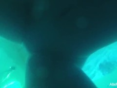 Alix Lynx' Underwater Hidden Cam Thumb