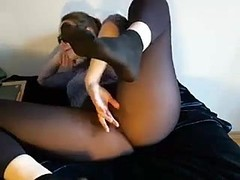 German Cutiekitty4u pantyhose tease Thumb