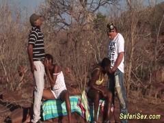 african deepthroat safari orgy Thumb