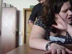 Russian BBW office sex Thumb