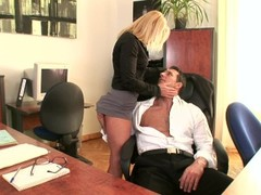 Boss Fuck Secretary In An Office Fuck - DDF Productions Thumb