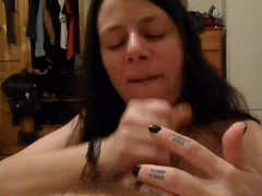 pov amateur blowjob by sexy brunette awesome cumshot Thumb