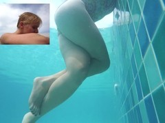 DIRTY TALK PUBLIC POLL UNDERWATER MASTURBATION THIGH SQUEEZING REAL ORGASM Thumb
